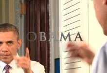 Daniel Day Lewis is Barack Obama
