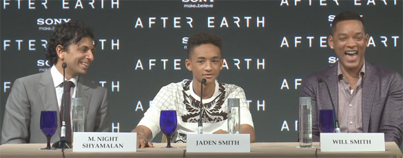 After Earth Press Conference
