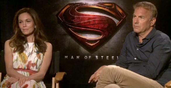 Diane Lane and Kevin Costner - Man of Steel
