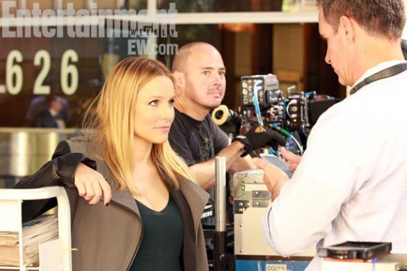 Kristen-Bell-on-set-of-the-Veronica-Mars-Movie