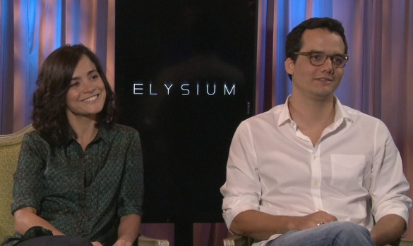 Alice Braga and Wagner Moura