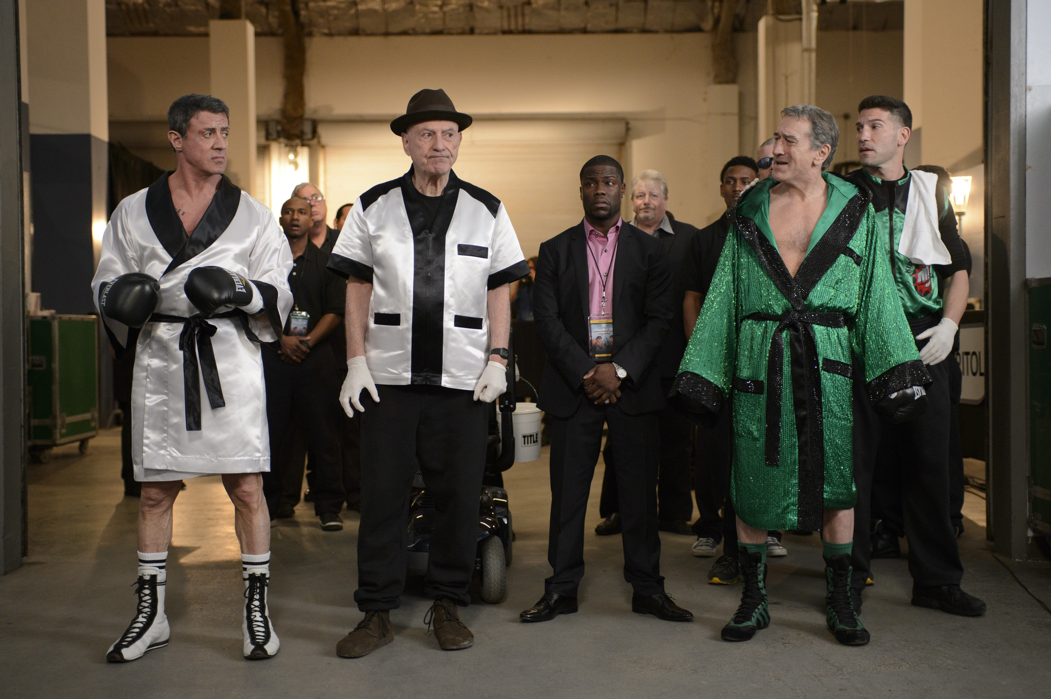 4c0e8ae251889 UK Exclusive  Robert De Niro and Sylvester Stallone go head to head in Grudge  Match  Mocumentary