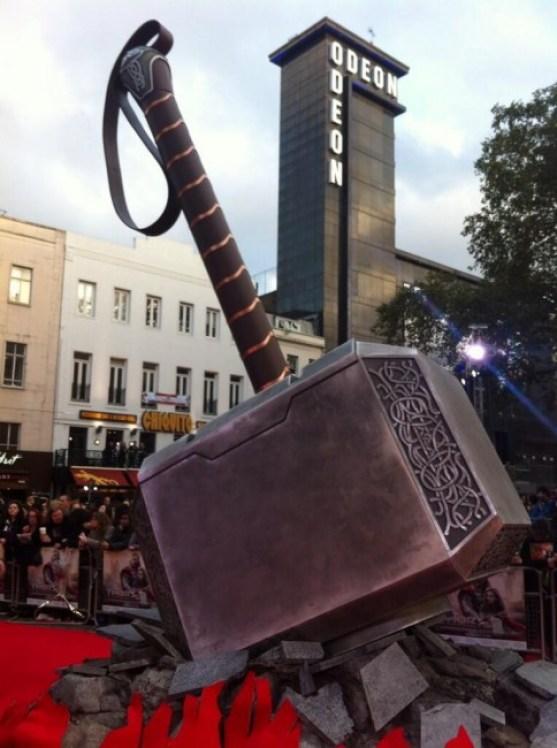 Thor Hammer Premiere