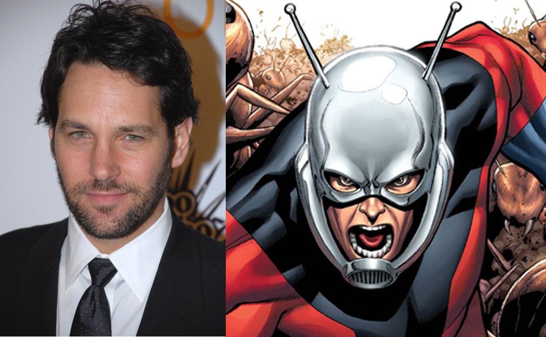 Paul Rudd confirmed to lead Edgar Wright's Ant-Man