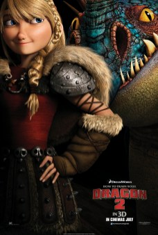 How to Train Your Dragon 2 - ASTRID CHARACTER ONE SHEET