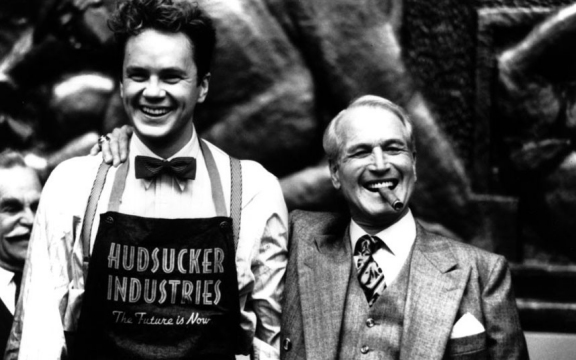 Paul Newman and Tim Robbins Hudsucker Proxy