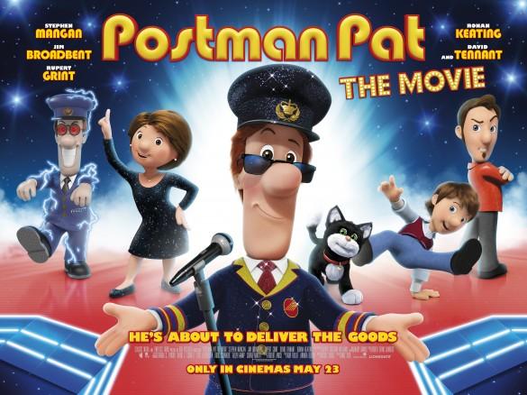 Postman Pat - The Movie Poster