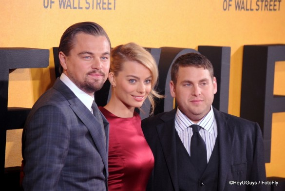 Wolf of Wall Street Premiere WM