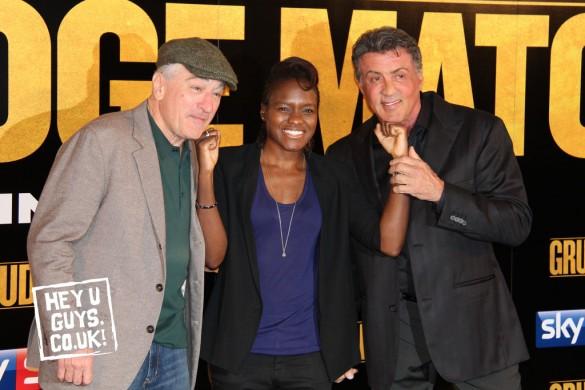 Grudge Match - Robert De Niro, Sylvester Stallone and Nicola Adams