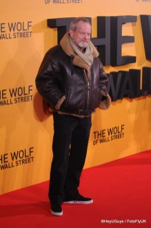 Terry Gilliam at The Wolf of Wall Street Premiere