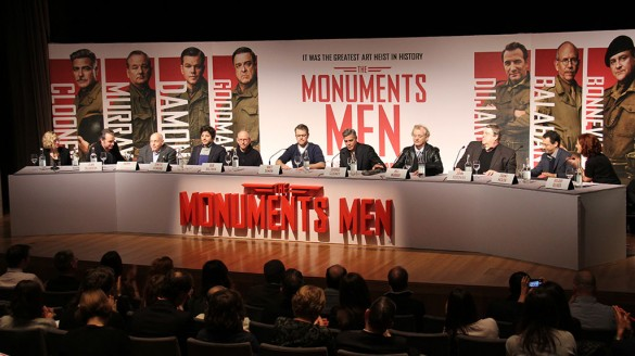 The Monuments Men Press Conference
