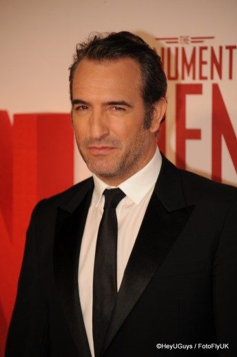 Jean Dujardin at The Monuments Men Premiere