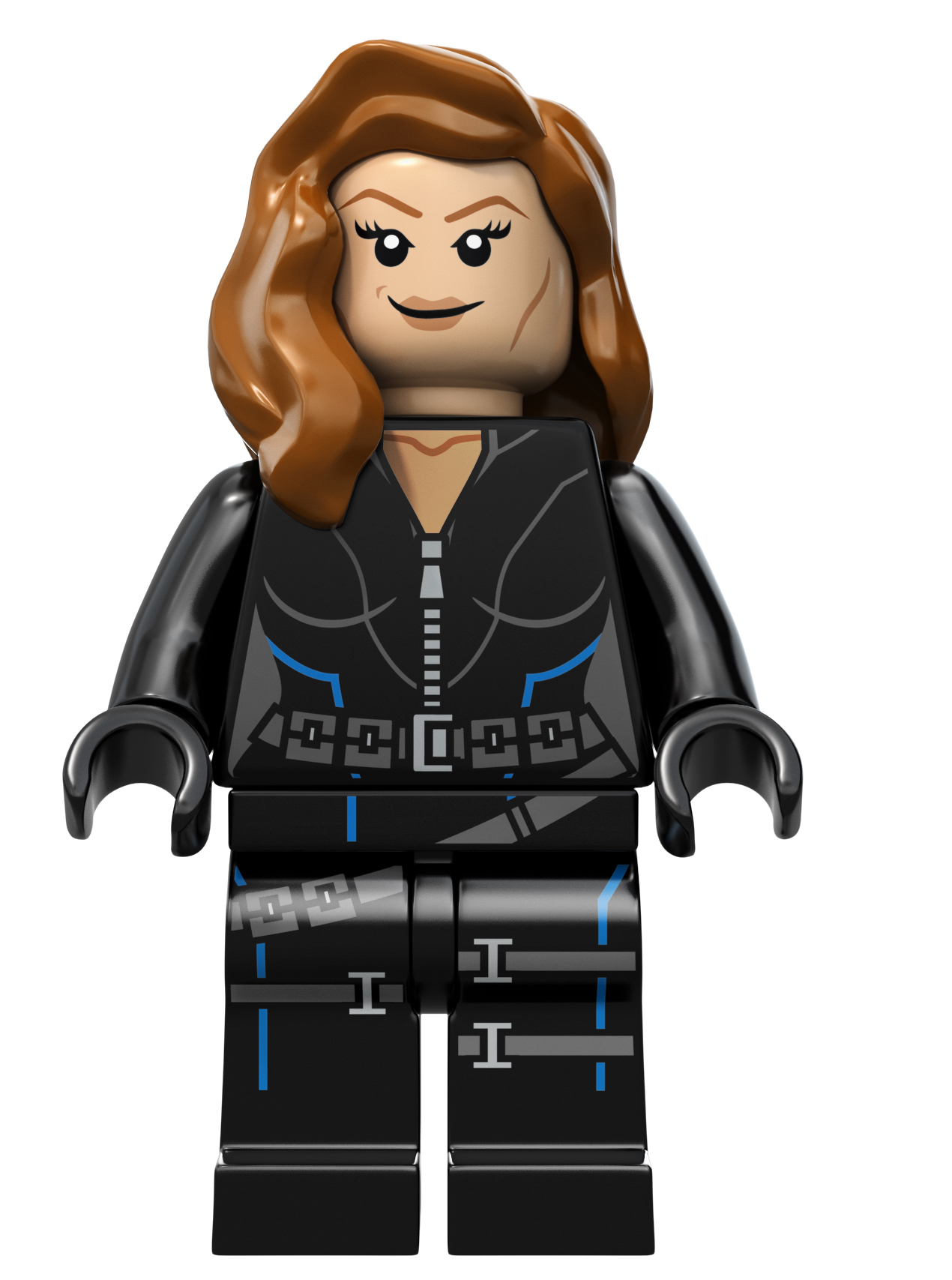 Black Widow Captain America LEGO HeyUGuys