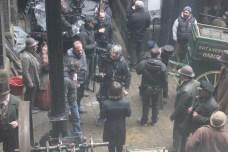 Frankenstein set Photo - Daniel Radcliffe