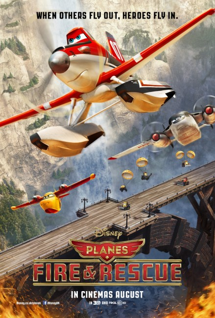 Planes:-Fire-and-Rescue-Poster