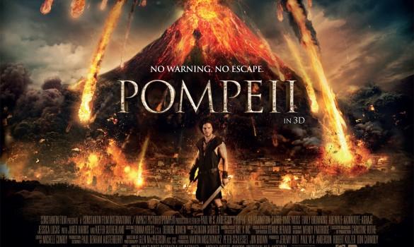 Pompeii UK Poster