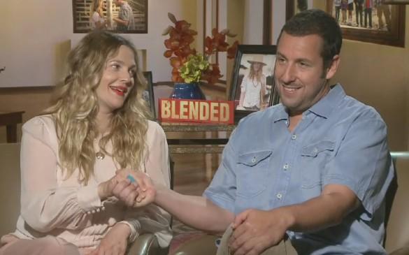 Blended - Adam Sandler and Drew Barrymore