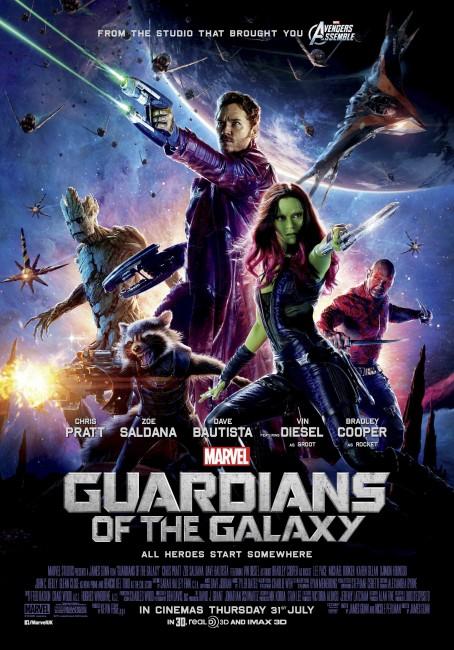 Guardians of the Galaxy- UK 1-Sheet - Localisation
