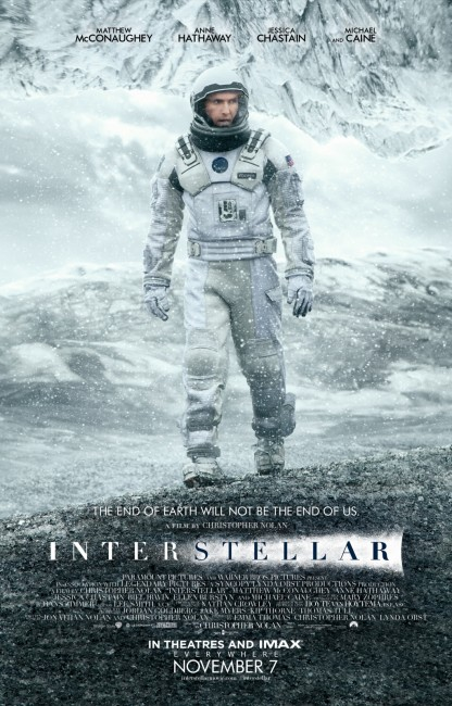 Interstellar Main One Sheet