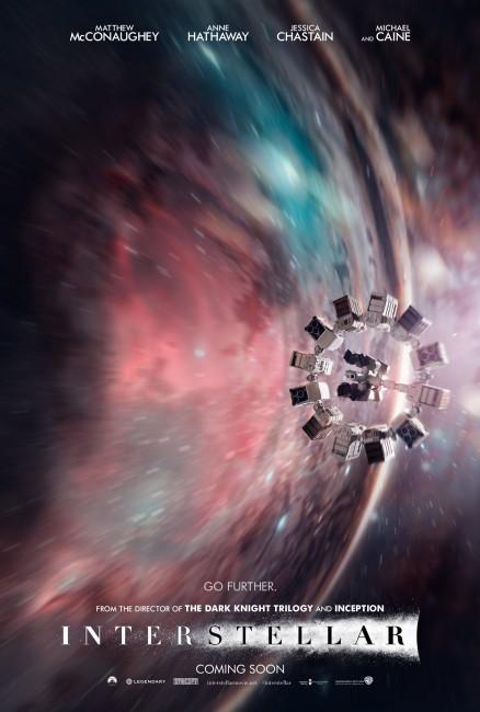 Interstellar Wormhole Poster