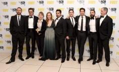 """Fury"" - Closing Night European Premiere Gala Red Carpet Arrivals - 58th BFI London Film Festival"