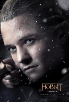 Orlando Bloom - The Hobbit Poster