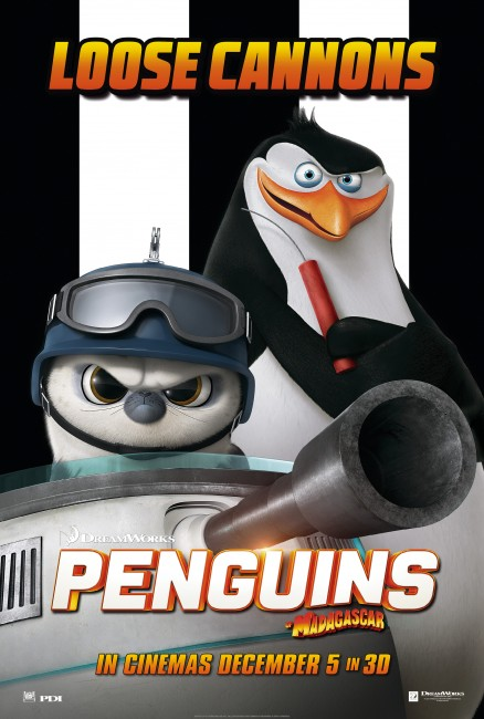 Penguins of Madagascar RicoPoster