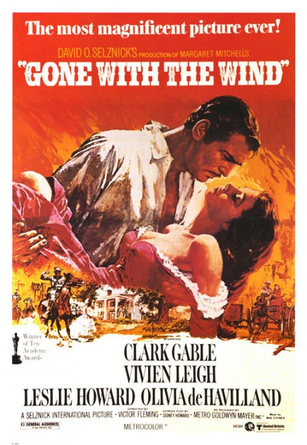 Gone with the wing poster