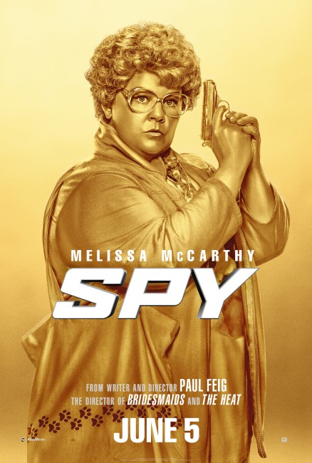 Spy Gold Poster