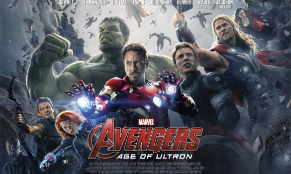 Avengers Age of Ultron UK Poster