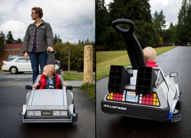 Back to the Future Kids Car