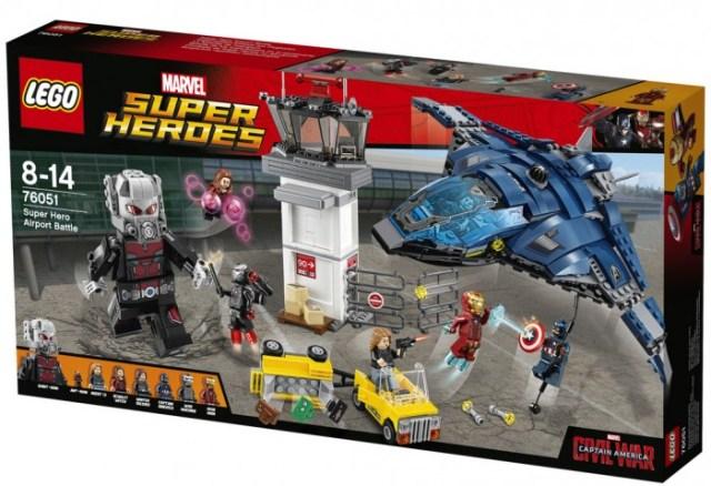 LEGO Captain America: Civil War Images & Descriptions (Spoilers)