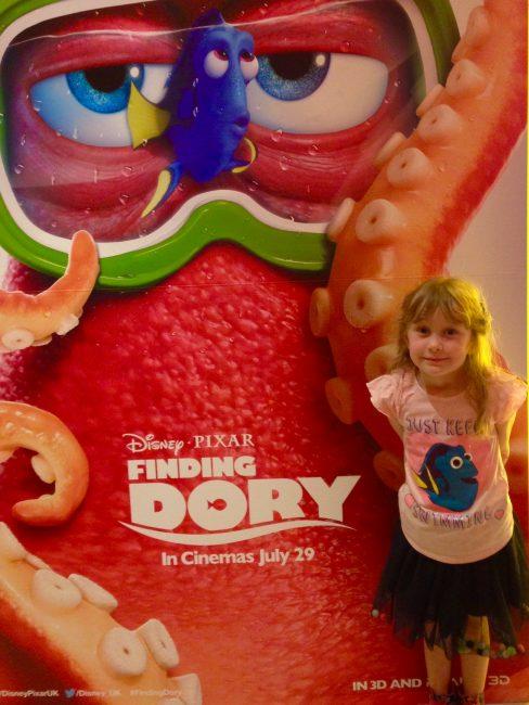 Dora at Finding Dory