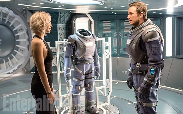 Passengers - Chris Pratt & Jennifer Lawrence