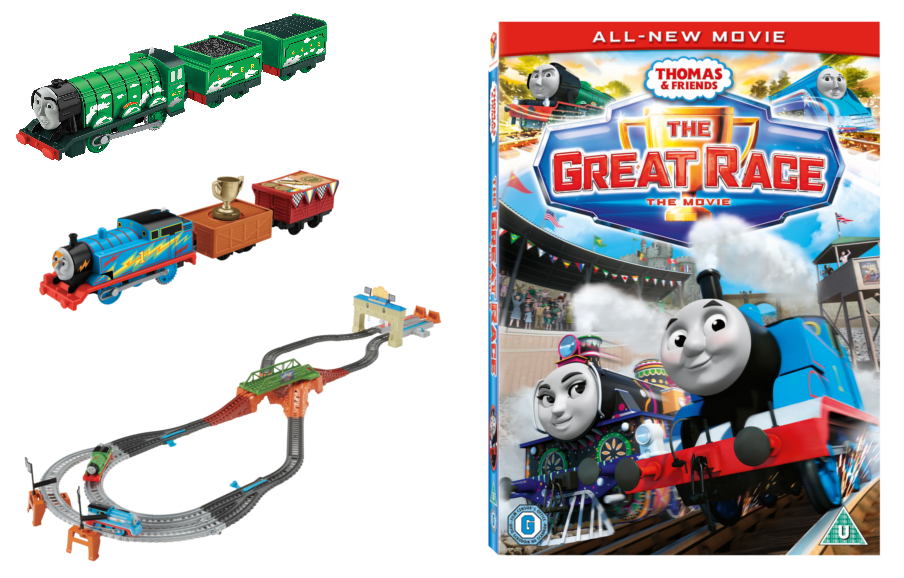 Win Merchandise From Thomas And Friends The Great Race
