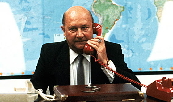 ESCAPE FROM NEW YORK, Donald Pleasence, 1981