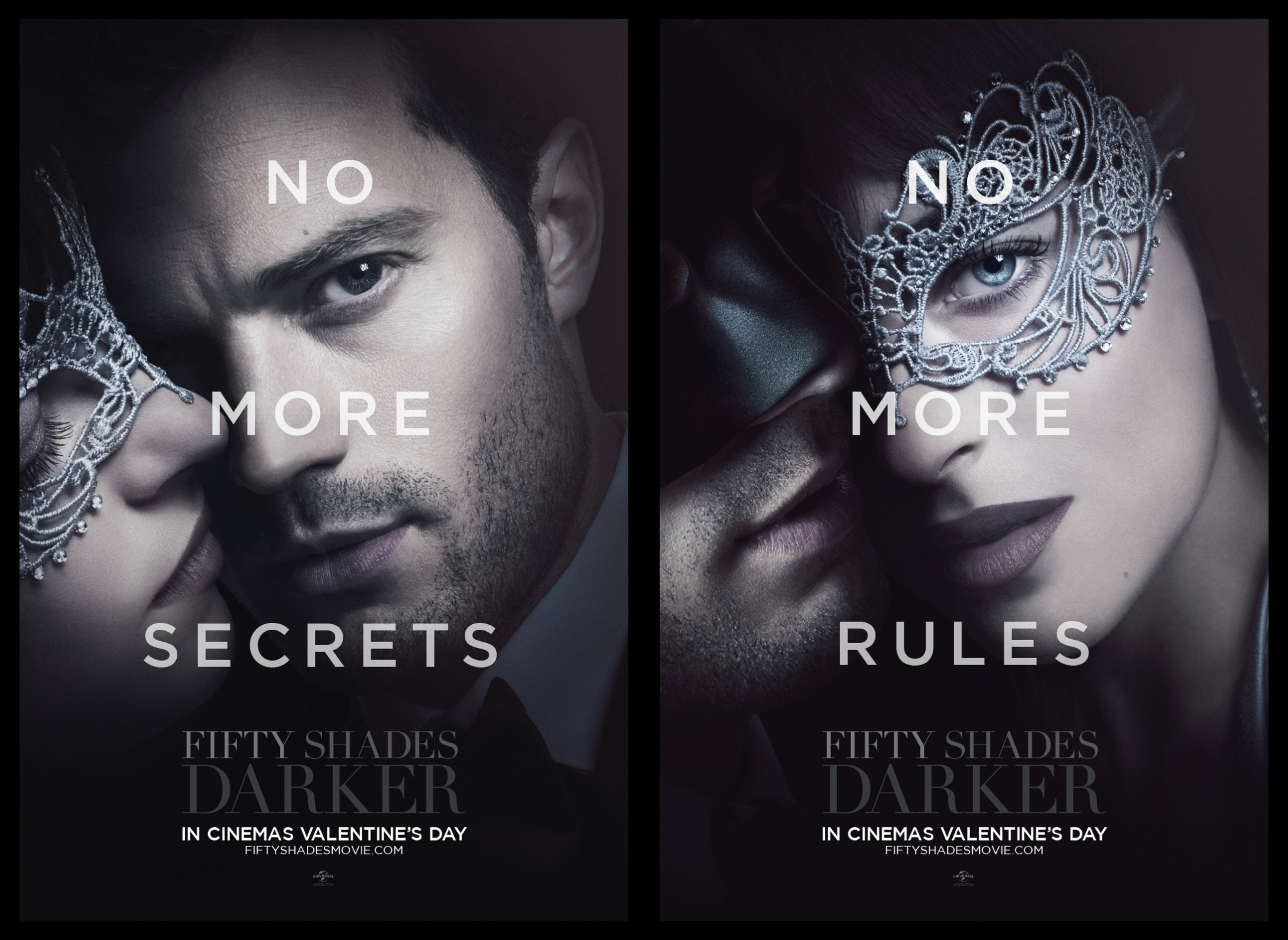 Fifty Shades Darker takes a trip to the Masquerade Ball in ...