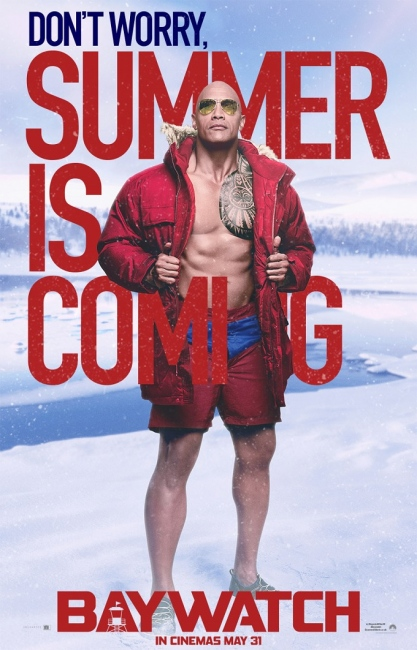 Baywatch movie Character poster