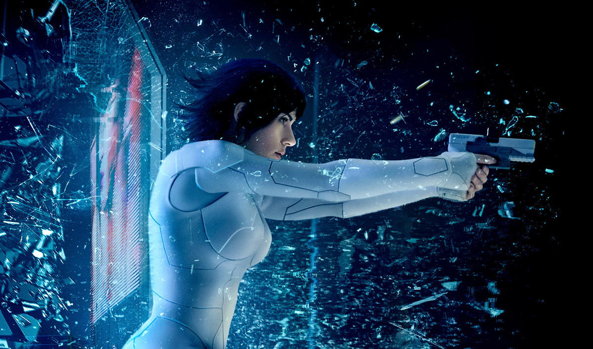 Ghost In The Shell Movie Posters Scarlett Johansson Anime