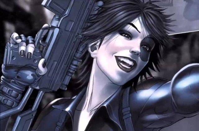 Comic Book version of Domino