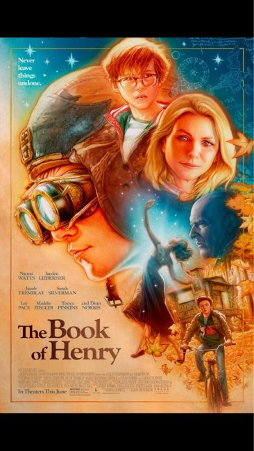 The Book of Henry Movie Poster slice
