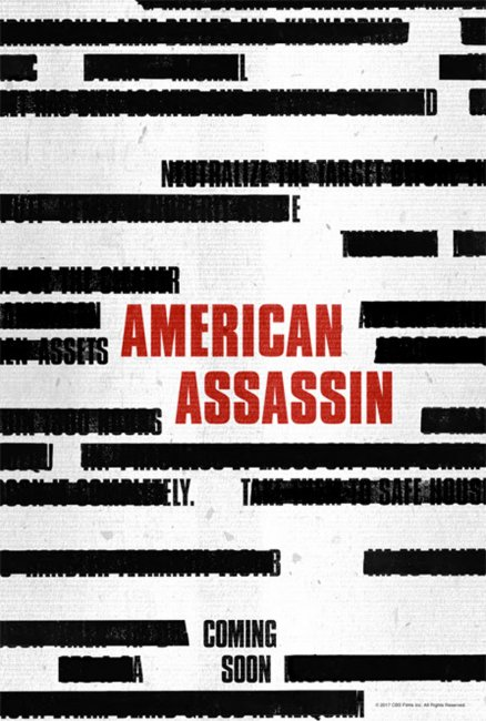 American Assassin Trailer and Poster