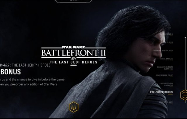 Kylo Ren Star Wars Battlefront 2