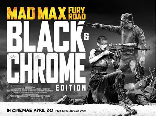 Mad Max Blood & Chrome Poster