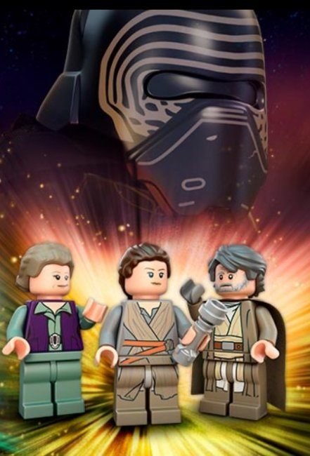 Star Wars The Last Jedi Luke minifig