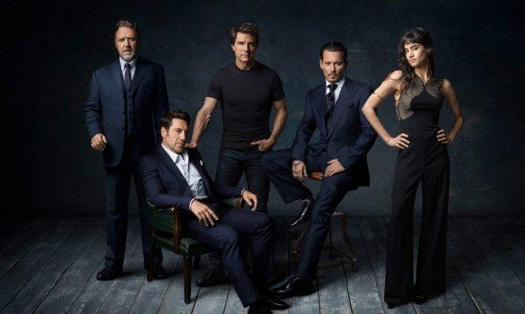 Universal Dark Universe Cast