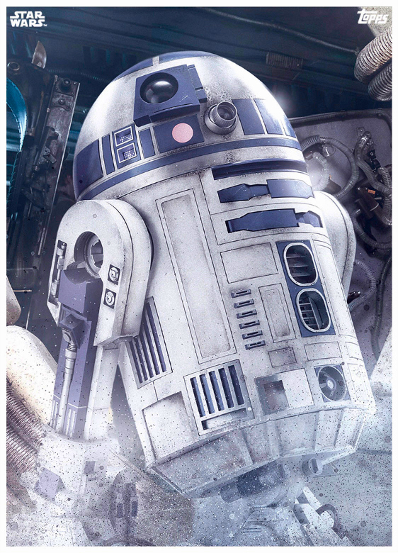 Star Wars The Last Jedi Topps Cards (10)