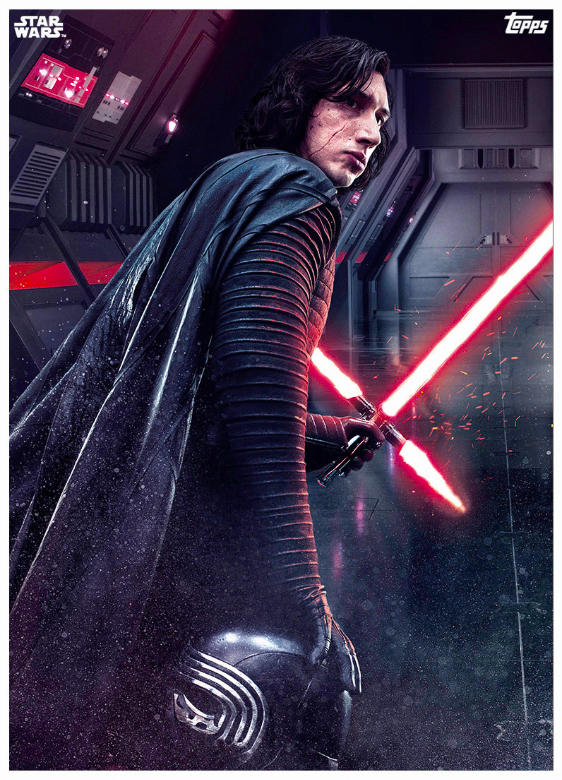 Star Wars The Last Jedi Topps Cards (5)