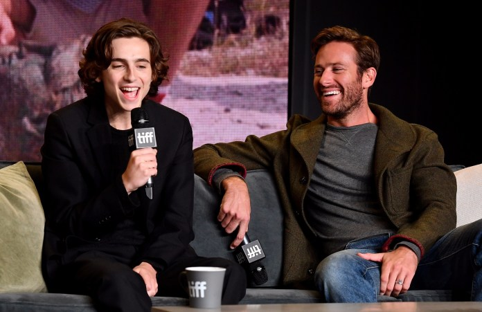 call me by your name press conference tiff
