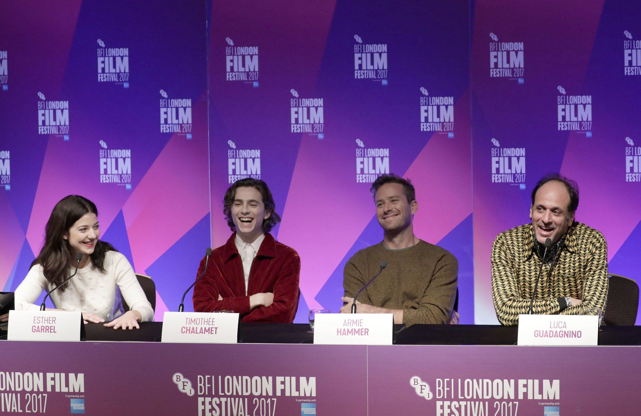 Call Me By Your Name full press conference